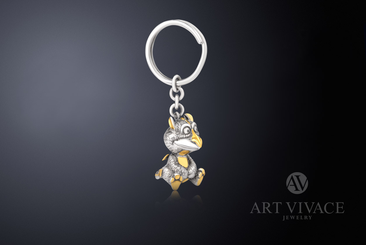 Keychain Dragon