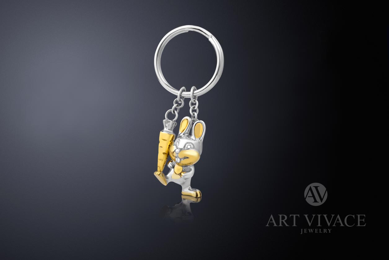 Keychain Rabbit