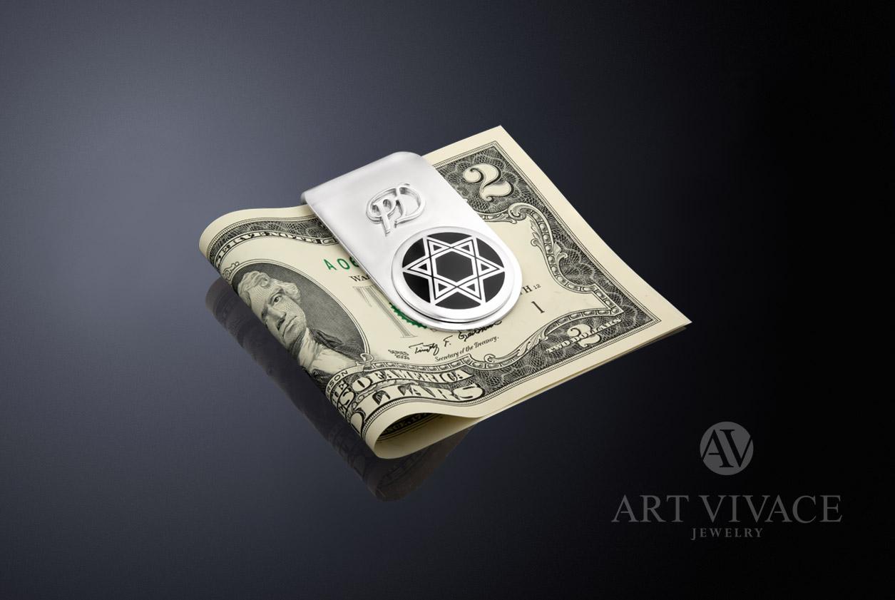 Именной зажим для денег