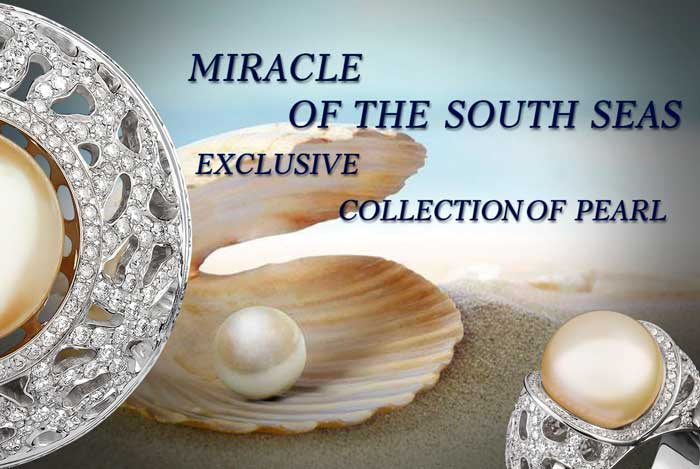 Eexclusive Art Vivace jewelry's pearl collection